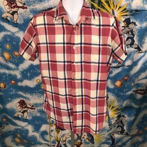 McGregor Contemporary Button Up Short Sleeve M